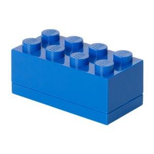 Niebieski pojemnik LEGO® Mini Box Blue Lungo