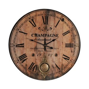 Zegar Antik Line Champagne, 59 cm