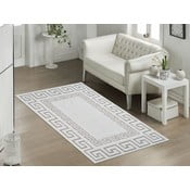 Beżowy wytrzymały dywan Versace, 60x90 cm