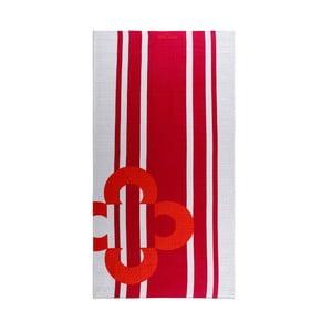 Ręcznik Red Flower, 75x150 cm