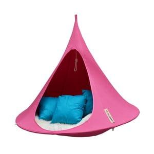 Różowy namiot wiszący dwuosobowy Cacoon Double