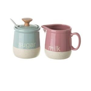 Komplet cukierniczki i mlecznika Unimasa