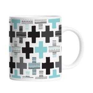 Ceramiczny kubek Blue Cross, 330 ml