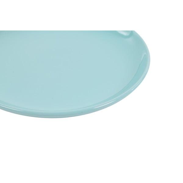 Komplet 6 talerzy deserowych Kaleidoskop 21 cm, jasnoniebieski