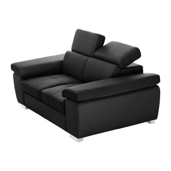 Czarna sofa Parure