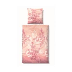 Pościel Edelflanell Nature Pink, 135x200 cm