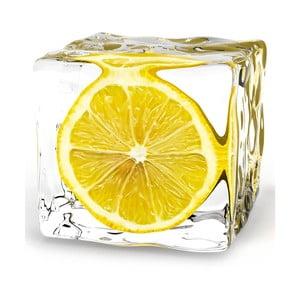 Szklany obraz Iced Lemon, 20x20 cm