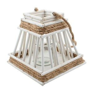Biały lampion, 21x21x20 cm