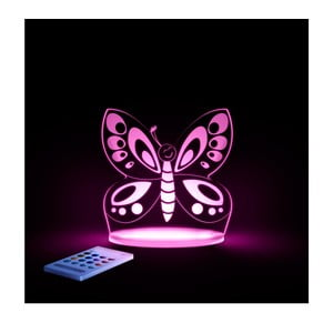 Dziecięca lampka nocna LED Aloka Motyl