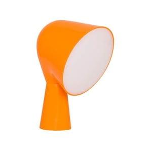 Pomarańczowa lampa stołowa Homemania Kadelon