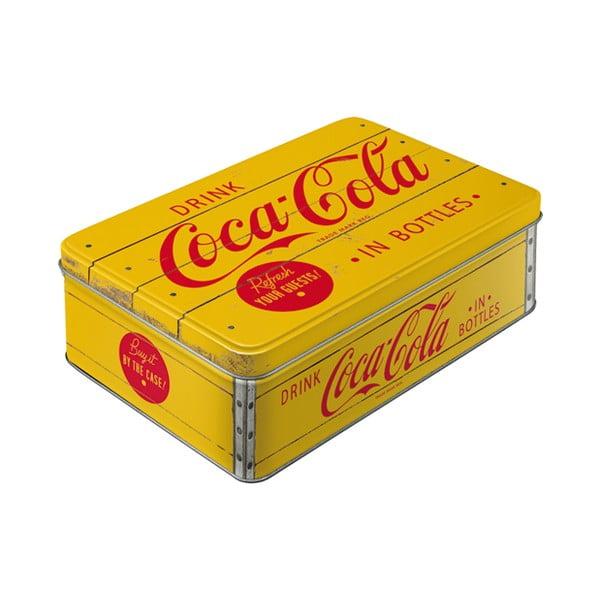 Blaszany pojemnik Retro Coca Cola