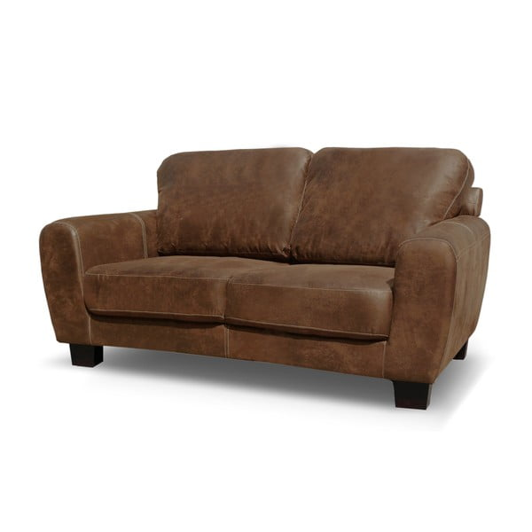 Sofa dwuosobowa Jethro, kakaowy brąz