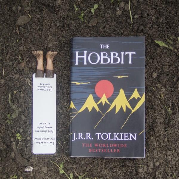 Zakładka do książki Creative Gifts Hobbit Feet