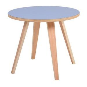 Niebieski okrągły stolik Garageeight Arvika