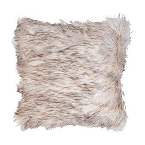 Biało- brązowa poszewka na poduszkę Clayre Fur