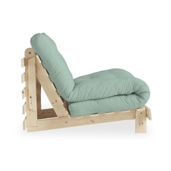 Fotel rozkładany Karup Design Roots Raw/Mint