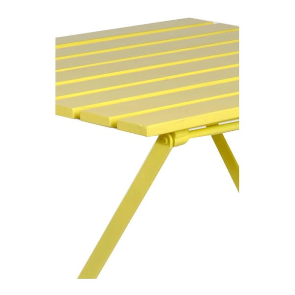 Stolik Industry Yellow, 60x60x74 cm