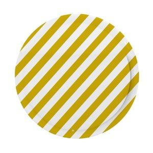 Taca Stripes Mustard