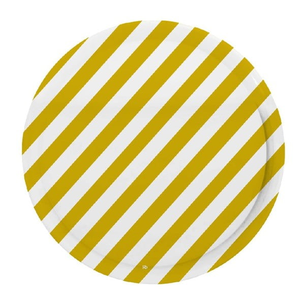 Taca Stripes Mustard
