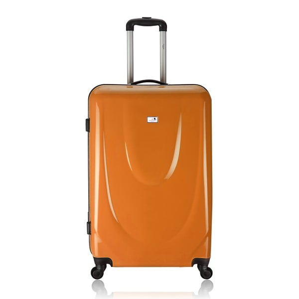 Zestaw 3 walizek Integre Full Orange, 114 l/75 l/46 l