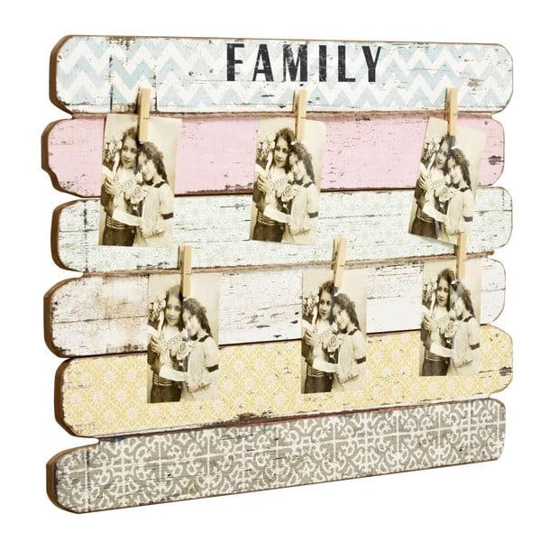 Tablica na zdjęcia Family, 55x71x4 cm