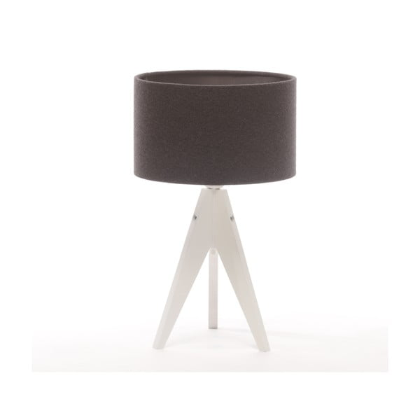 Lampa stołowa Artist Cylinder Grey/White