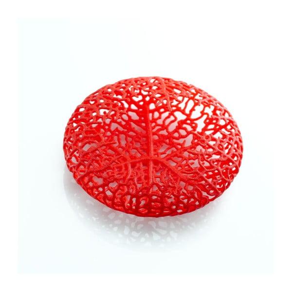 Broszka Hyphae Red