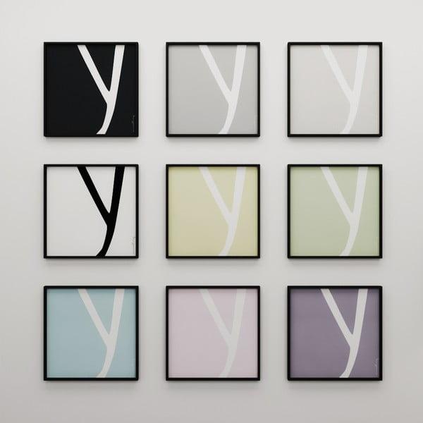 Plakat Litera X, 50x50 cm