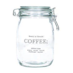 Szklany pojemnik na kawę Coffee
