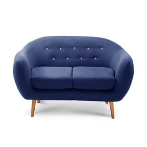 Sofa dwuosobowa Constellation Navy Blue/Grey/Natural