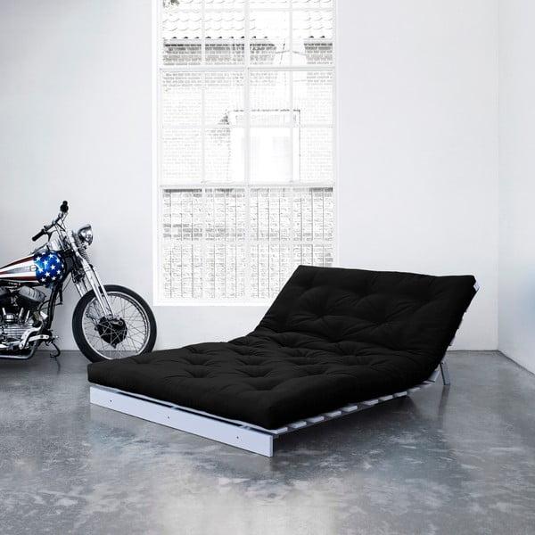 Sofa rozkładana Karup Roots Cool Gray/Black