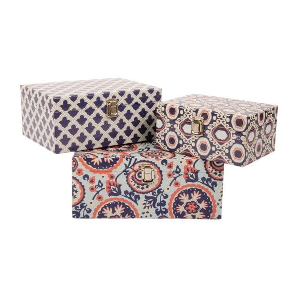 Zestaw 3 pudełek Fashion