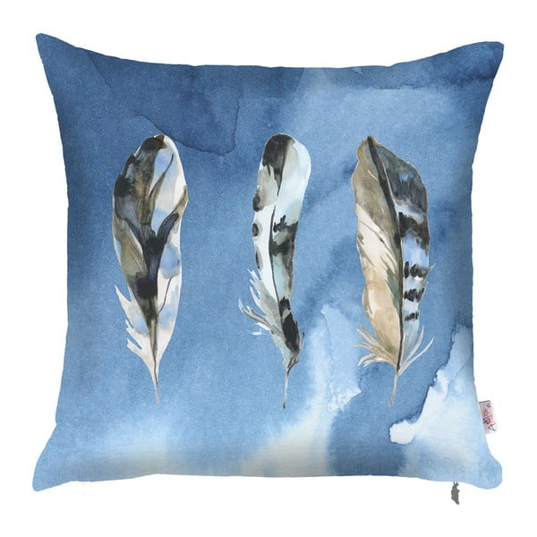 Niebieska poszewka na poduszkę Apolena Feana, 43x43 cm