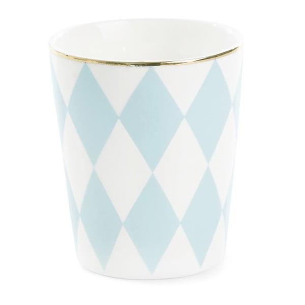 Kubek ceramiczny Turquoise Harlequin