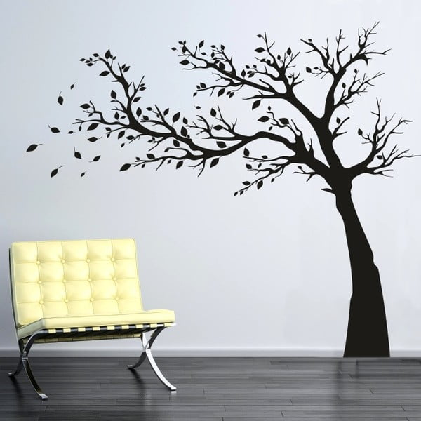 Naklejka ścienna Drzewo, lewa strona