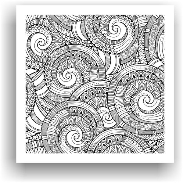 Obraz do kolorowania 26, 50x50 cm