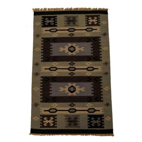 Ręcznie tkany dywan Kilim 131, 90x150 cm