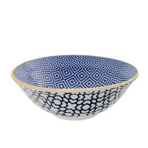 Porcelanowa miska Geo Noodle Geometric No1, 21x7,8 cm