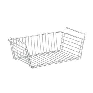Podwieszany koszyk pod półkę Metaltex Basket, 39x26 cm