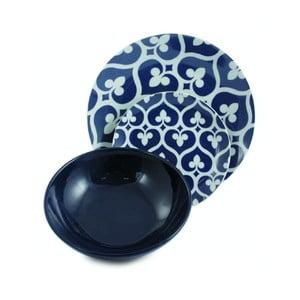 Zestaw talerzy porcelanowych Mandala Blu, 12 sztuk