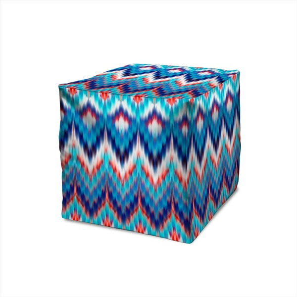 Puf Decorative Blue