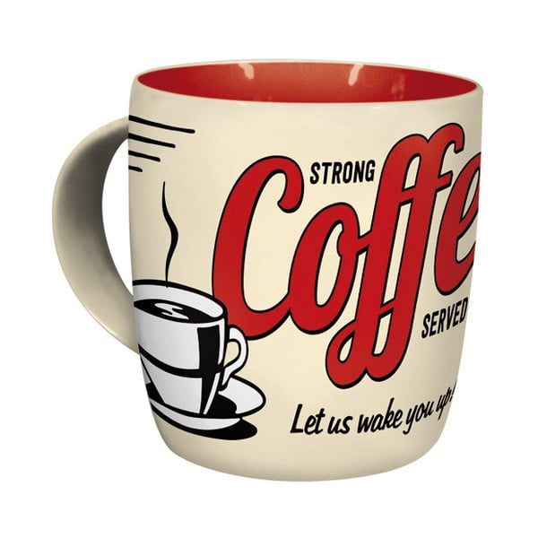 Kubek ceramiczny Strong Coffee 330 ml