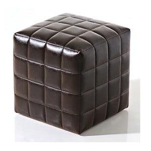 Puf Bakero Squares ze skóry ekologicznej 40x40 cm
