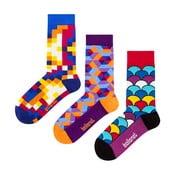Podarunkowy zestaw skarpet Ballonet Socks Crazy, rozmiar 36-40