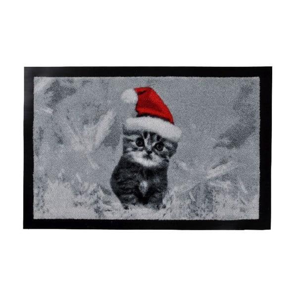Wycieraczka Xmas Cat, 40x60 cm