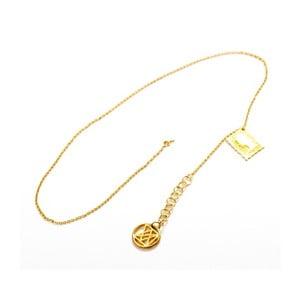 Naszyjnik Queen Gold, 40 cm