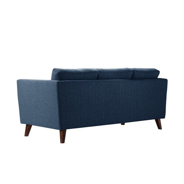 Szaroniebieska sofa 3-osobowa Jalouse Maison Elisa