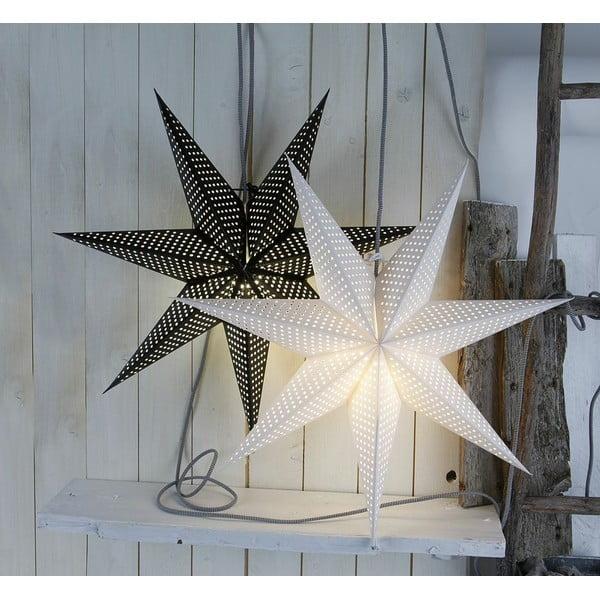 Gwiazda świecąca Huss White, 60 cm