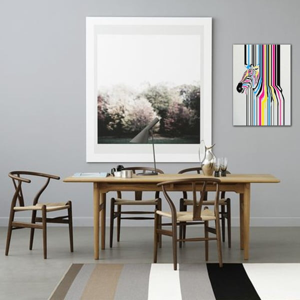 Obraz Really Nice Things Zebra Fusion, 50x70 cm