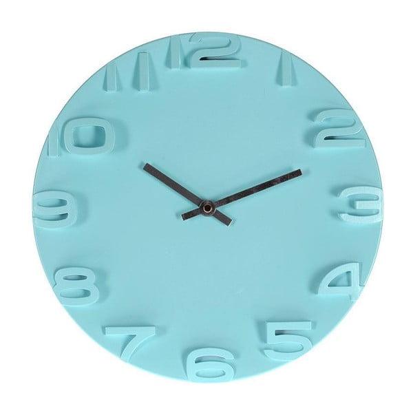 Zegar ścienny Plastic Blue